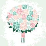floral απεικόνιση σχεδίου καρτών ανασκόπησης φόντου Στοκ εικόνα με δικαίωμα ελεύθερης χρήσης