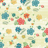 Floral απεικόνιση σχεδίων ελεύθερη απεικόνιση δικαιώματος