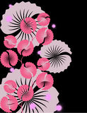 floral απεικόνιση Στοκ εικόνες με δικαίωμα ελεύθερης χρήσης