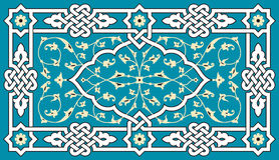 Floral αραβική διακόσμηση Στοκ Εικόνες