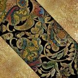 Floral αφηρημένο shabby χρωματισμένο υπόβαθρο Στοκ Φωτογραφίες