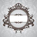 floral βασιλικός τρύγος πλαι&sigm ελεύθερη απεικόνιση δικαιώματος
