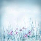 floral βιολέτα άνοιξη λουλουδιών ανασκόπησης Στοκ εικόνες με δικαίωμα ελεύθερης χρήσης