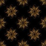floral γεωμετρικό πρότυπο άνευ ραφής Μόδα γραφική Σχέδιο υποβάθρου πολυτέλειας Σύγχρονη μοντέρνη αφηρημένη σύσταση Πρότυπο για τι Στοκ Εικόνες