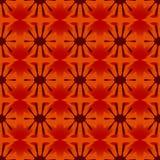 Floral γεωμετρικό σχέδιο άνευ ραφής Στοκ Φωτογραφίες