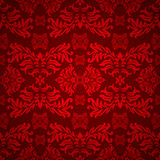 floral γοτθικό κόκκινο Στοκ εικόνα με δικαίωμα ελεύθερης χρήσης