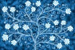 floral δέντρο Στοκ φωτογραφία με δικαίωμα ελεύθερης χρήσης