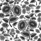 floral δαντέλλα λουλουδιών διανυσματική απεικόνιση