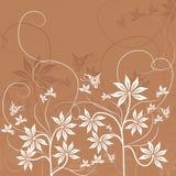floral διάνυσμα ανασκόπησης Στοκ Φωτογραφίες