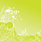 floral διάνυσμα ανασκόπησης Στοκ εικόνα με δικαίωμα ελεύθερης χρήσης