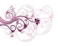 floral διάνυσμα απεικόνισης στοιχείων σχεδίου ελεύθερη απεικόνιση δικαιώματος