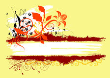 floral διάνυσμα πλαισίων Στοκ Εικόνες