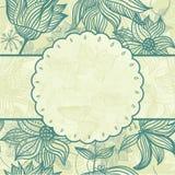 floral διάνυσμα προτύπων πλαισί&ome Στοκ φωτογραφίες με δικαίωμα ελεύθερης χρήσης