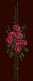 floral διάνυσμα σχεδίου ανασ&kap Στοκ Εικόνα