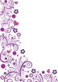floral διάνυσμα σχεδίου συνόρ&om διανυσματική απεικόνιση