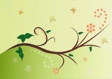 floral διάνυσμα Στοκ εικόνες με δικαίωμα ελεύθερης χρήσης
