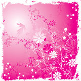 floral διάνυσμα grunge ανασκόπησης απεικόνιση αποθεμάτων