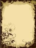 floral διάνυσμα grunge συνόρων απεικόνιση αποθεμάτων