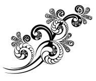 Floral διακλαδιμένος διακόσμηση απεικόνιση αποθεμάτων