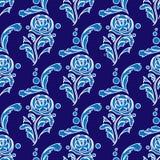 floral διακοσμητικός ανασκόπη& Το άνευ ραφής σχέδιο για τις ταπετσαρίες σχεδίου σας, σχέδιο γεμίζει, υπόβαθρα ιστοσελίδας, συστάσ διανυσματική απεικόνιση