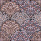 floral διακόσμηση άνευ ραφής Στοκ εικόνες με δικαίωμα ελεύθερης χρήσης