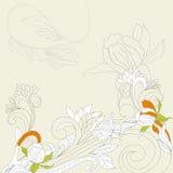 floral διακόσμηση ανασκόπησης απεικόνιση αποθεμάτων