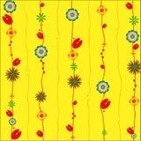 floral διακόσμηση σχεδίου διανυσματική απεικόνιση