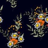 Floral διανυσματική απεικόνιση για τη μόδα, ύφασμα Επιφάνεια και υφαντική τυπωμένη ύλη Ιαπωνικά λουλούδια της Ασίας άνοιξη σχεδίω ελεύθερη απεικόνιση δικαιώματος