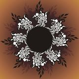 floral διανυσματικός τρύγος κ Στοκ εικόνα με δικαίωμα ελεύθερης χρήσης