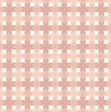 Floral διανυσματικό σχέδιο στο ροζ και τους τόνους κοραλλιών που εμπνέονται από την ταπετσαρία της δεκαετίας του '70 διανυσματική απεικόνιση