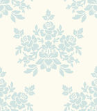 floral ελαφρύς άνευ ραφής τρύγο& Στοκ Φωτογραφία