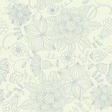 floral ελαφρύς άνευ ραφής τρύγο& Στοκ φωτογραφία με δικαίωμα ελεύθερης χρήσης