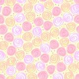 floral ελαφρύ άνευ ραφής διάνυσ&m Στοκ εικόνα με δικαίωμα ελεύθερης χρήσης