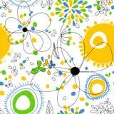 floral ελαφρύ πρότυπο άνευ ραφής διανυσματική απεικόνιση