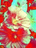 Floral ελαιογραφία Στοκ φωτογραφία με δικαίωμα ελεύθερης χρήσης