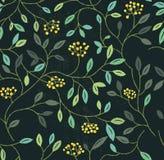 Floral θερινό άνευ ραφής σχέδιο Στοκ Εικόνες