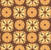 floral διακοσμητικός ανασκόπη& Άνευ ραφής σχέδιο για το σχέδιό σας W Στοκ Εικόνες
