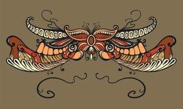 Floral διακόσμηση, τυπογραφία ελεύθερη απεικόνιση δικαιώματος