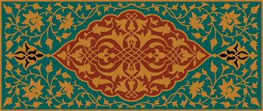 Floral διακόσμηση Mudaris Στοκ εικόνες με δικαίωμα ελεύθερης χρήσης