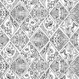 Floral διαμάντια Στοκ Εικόνες