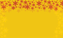 Floral διανυσματική ανασκόπηση για το σχέδιό σας καρτών ή αφισών Στοκ εικόνες με δικαίωμα ελεύθερης χρήσης