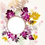 Floral διανυσματική ανασκόπηση Στοκ Εικόνες