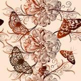 Floral διανυσματικό σχέδιο για το σχέδιο Στοκ Εικόνα