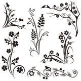 floral ιαπωνική σειρά σχεδίου ελεύθερη απεικόνιση δικαιώματος