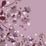 floral ιαπωνικό πρότυπο Στοκ Φωτογραφίες