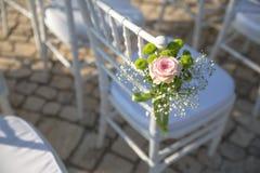 Floral ιδέες για τη γαμήλια τελετή σας Στοκ Φωτογραφίες