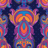 Floral ινδικό περίκομψο άνευ ραφής πρότυπο του Paisley Στοκ φωτογραφία με δικαίωμα ελεύθερης χρήσης