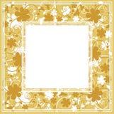 floral κίτρινος ανασκόπησης Στοκ Εικόνες