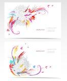 floral καθορισμένο διάνυσμα σ&ta διανυσματική απεικόνιση