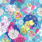 floral καλοκαίρι σχεδίου ελεύθερη απεικόνιση δικαιώματος
